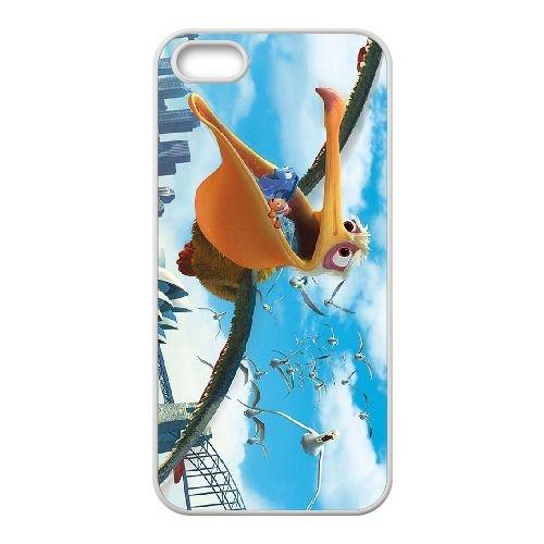 Finding Dory 005 coque iPhone 4 4S Housse Blanc téléphone portable couverture de cas coque EOKXLLNCD10265