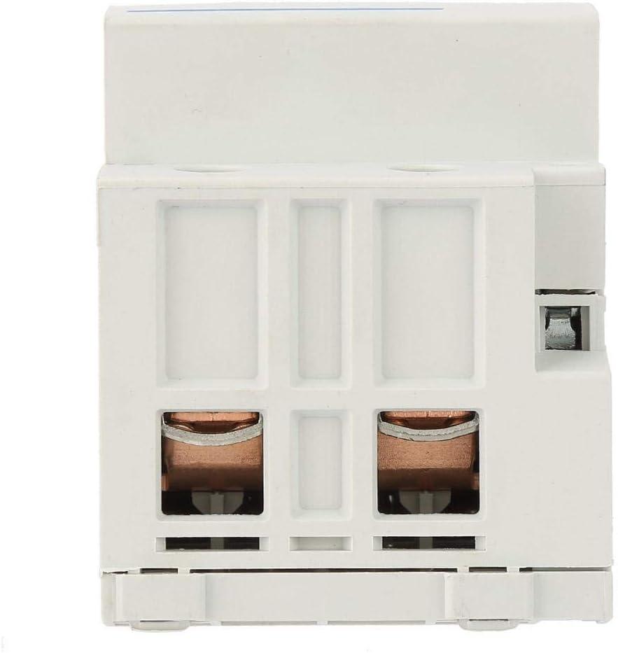 Contactor de CA 2NO 100A de 24 230V 50 60HZ para el hogar,Contactor de corriente alterna,Vida extra larga,Ultra silencioso,ahorro de energ/ía AC230V Contactor modular 2P