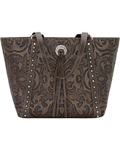 american-west-baroque-zip-top-bucket-tote-distressed-charcoal-brown