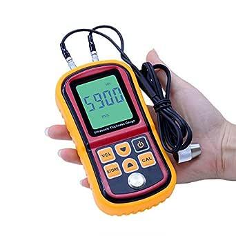 Medidor de espesor ultrasónico, medidor de espesor digital