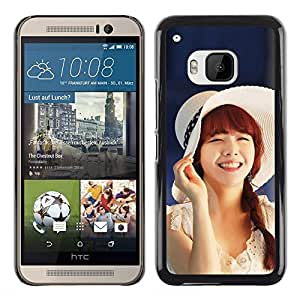 Exotic-Star ( Cute Koeran Asian Girl ) Fundas Cover Cubre Hard Case Cover para HTC One M9