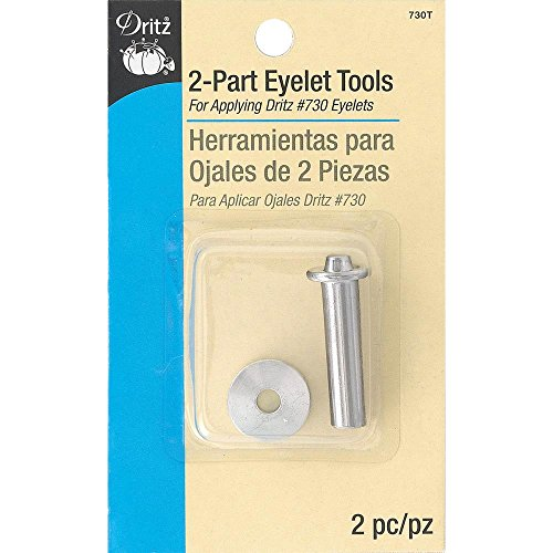 Dritz 730T 2-Part Eyelets Tools for 2-Part 1/4-Inch Eyelets
