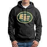 Andrlya&A Men's/Youth Edmonton Eskimos Logo Hoodie Sweater