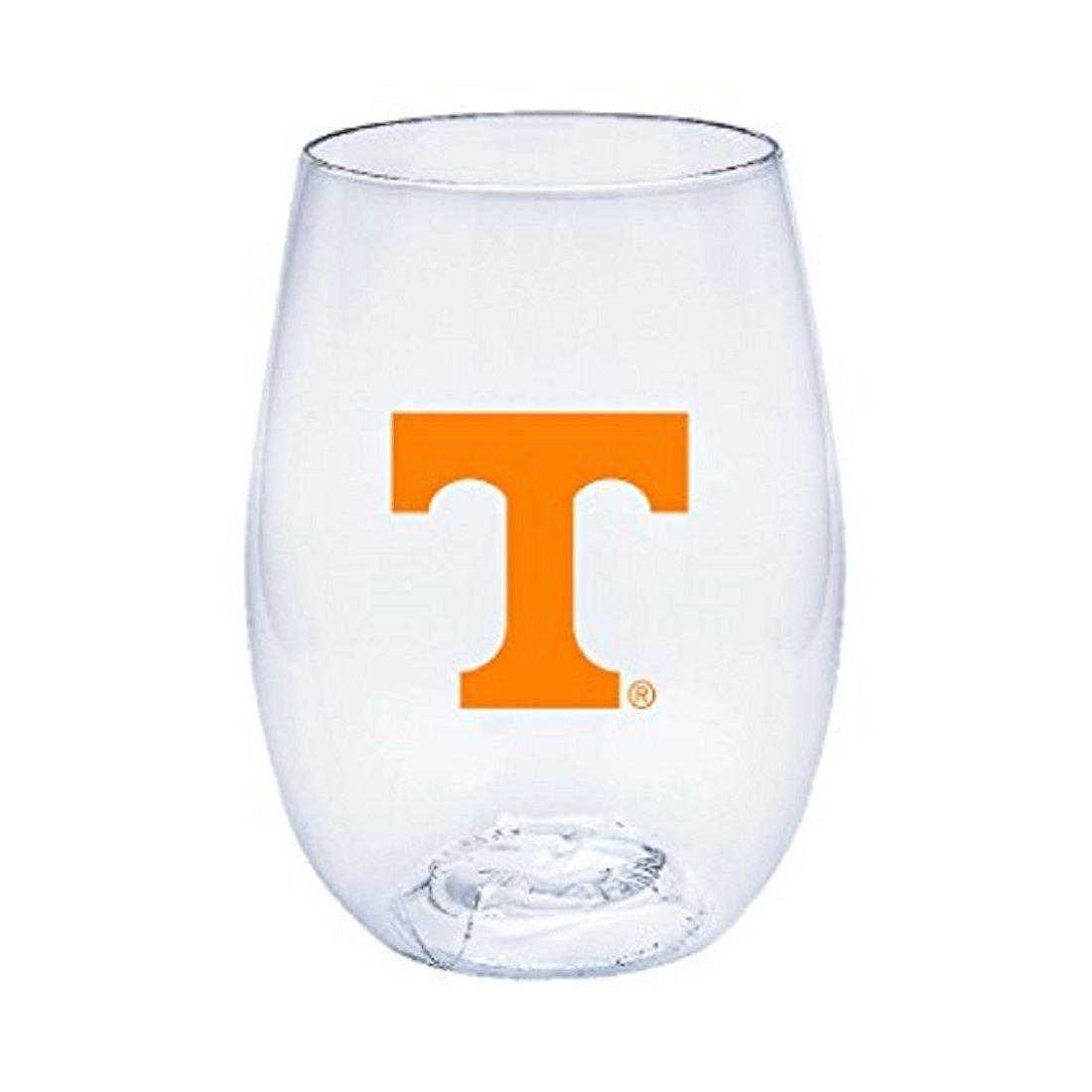 Neil Varsity Tennessee Volunteers Govino Shatterproof Wine or Beverage Glass
