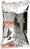 Boyd's Coffee Hi-Revv, Twice The Caffeine, Ground Medium Roast Coffee, 4-Ounce Portion Packs (Pack of 30)