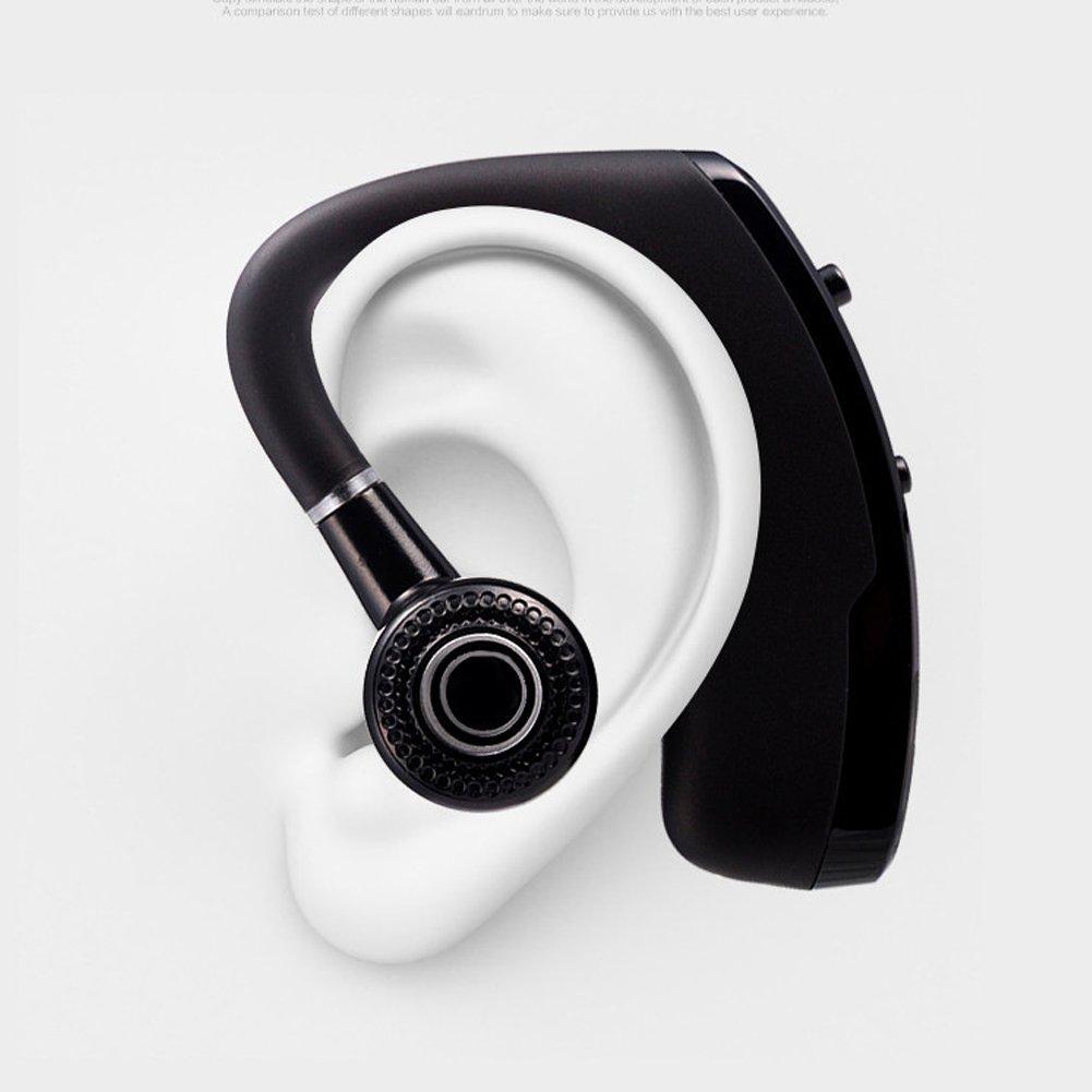 AimeFor Auriculares Bluetooth V4.0 Auriculares Bluetooth para Coche Auriculares Inalámbricos con Micrófono Celular Cancelación de Ruido Bluetooth Auricular ...