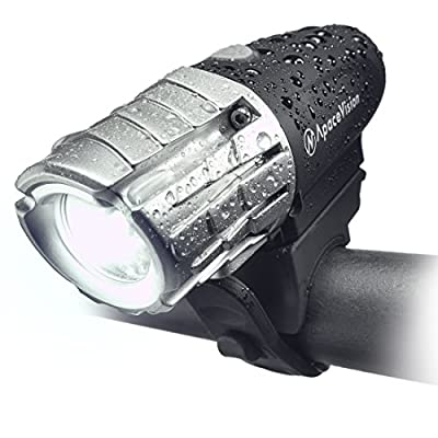 Apace Vision USB Rechargeable Bike Light Set - Powerful 300 Lumens LED Bicycle Headlight and Tail Light- Super Bright Front Light & Rear Light for Optimum Cycling Safety