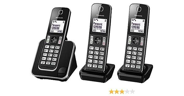 Teléfono inalámbrico digital Panasonic kx-tgd313ed con Nuisance Call Control, Triple DECT: Amazon.es: Electrónica