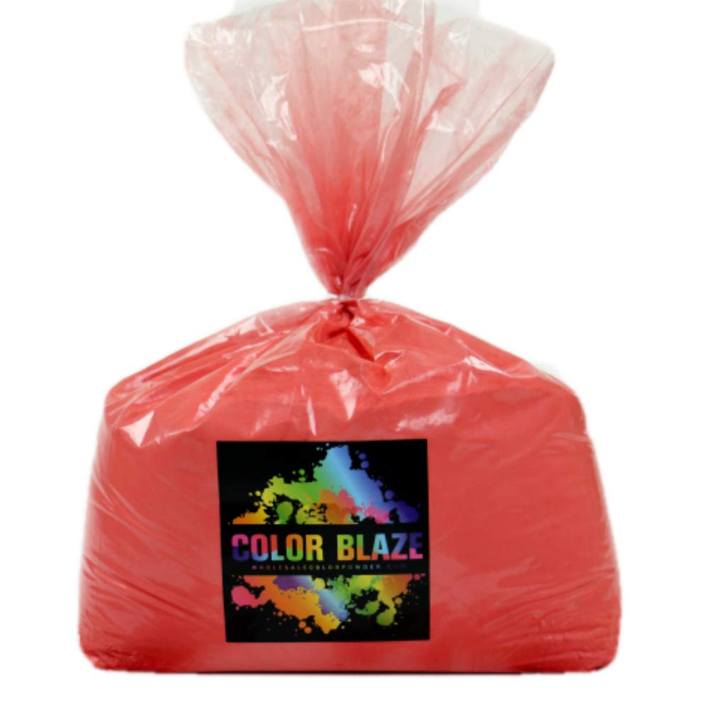 Color Powder Red 25lbs -Ideal for Fun Run events,Holi Events, youth group color wars, and more! Blue, Orange, Yellow, Purple, Pink, Yellow and Teal Available