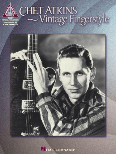 - Chet Atkins - Vintage Fingerstyle Songbook (Artist Songbooks Series)
