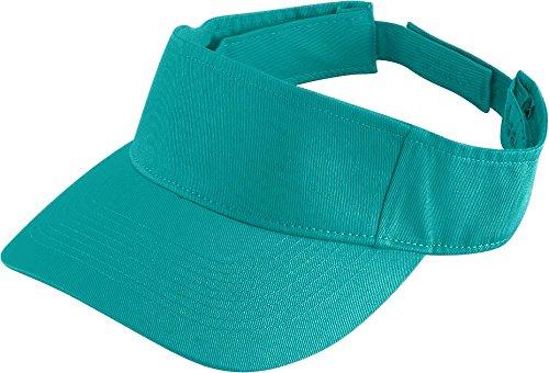 Augusta Sportswear Kids' Sport Twill Visor OS Teal ()
