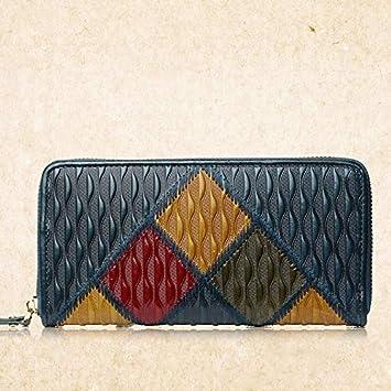 Amazon.com: Blue Stones Fashion Vintage Women Wallets Long ...