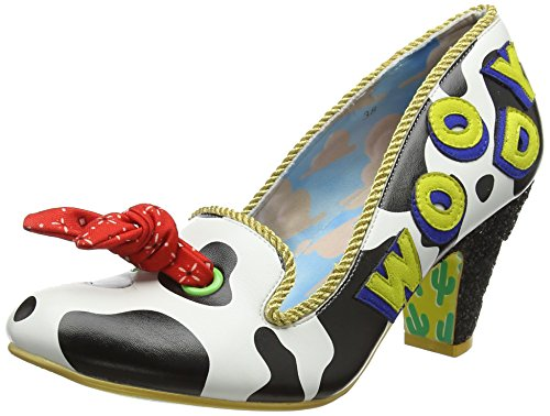 Irregular Choice Women's Reach for The Sky Closed Toe Heels Red (Red/Black A) Cheapest for sale cheap sale pay with visa official online outlet amazon QtcrLd9T