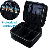 Travel Makeup Case,Chomeiu- Professional Cosmetic Makeup Bag Organizer Makeup Boxes With Compartments Neceser De Maquillaje …