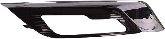 Bapmic HS7Z-17B814-CB Front Right/&Left Fog Lamp Bezel Kit for Ford Fusion 2017-2018