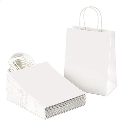 Amazon.com: Kraft - Bolsas de papel blanco para la compra ...