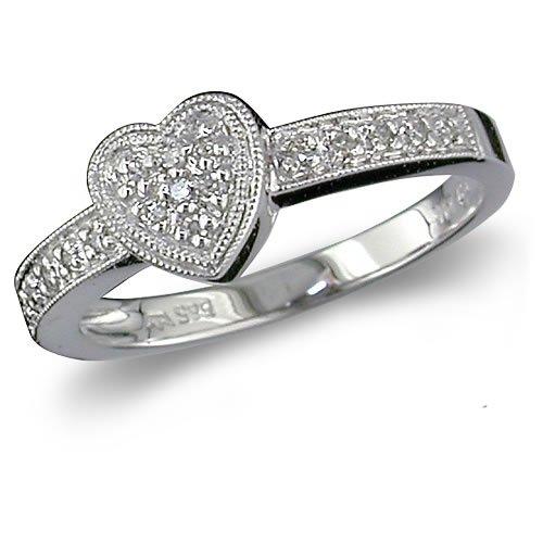 Heart Shaped Diamond Promise R