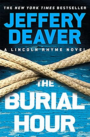 book cover of The Burial Hour