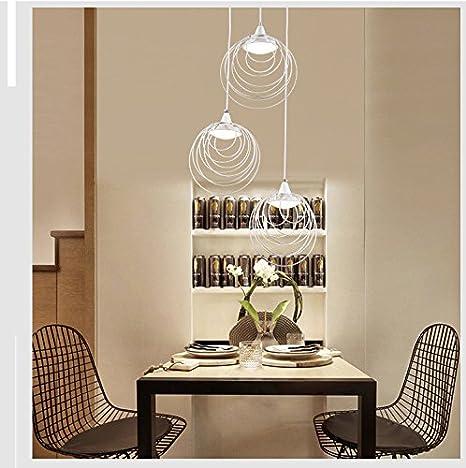Ehime Lámparas minimalistas modernas LED lámpara de ...