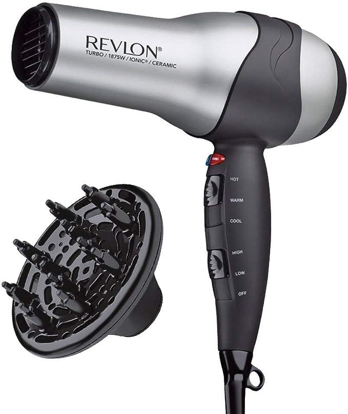 Amazon.com: Revlon 1875W Volumizing Turbo Hair Dryer: Beauty
