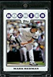 Mark Redman - Colorado Rockies - 2008 Topps Updates & Highlights Baseball Card in Protective Screwdown Display Case!