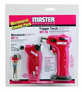 Master Appliance MT-70P Triggertorch Combo Pack, Includes MT-70 and MT-11