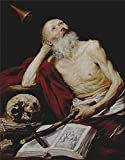 Oil Painting 'Pereda Y Salgado Antonio De Saint Jerome 1643' 8 x 10 inch / 20 x 26 cm , on High Definition HD canvas prints is for Gifts And Dining Room, Nursery And Powder Room Decoration