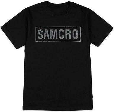 Sons of Anarchy Samcro bandera Camiseta negra para hombre | M ...