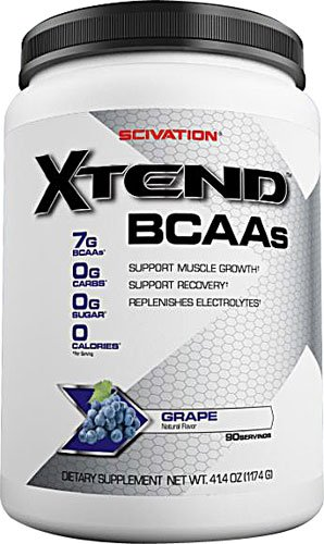 Scivation Xtend? Intra-Workout Catalyst BCAAs Grape Escape -- 90 Servings - 2pc