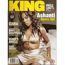 King Magazine Jan/Feb 2005 - Ashanti, Ciara, Dave Chappelle