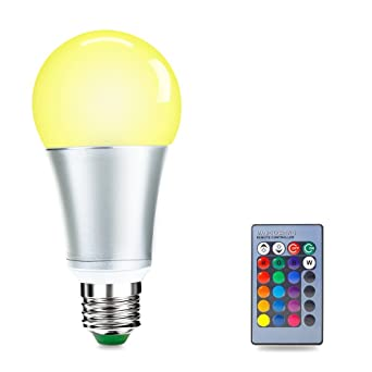 De TélécommandeDimmable Blanc Couleur 6500kclasse changement Du Ampoules Luxjet Led lumière Rgbw Couleur Rgb 10w Jour E27 Led Ampoule 0NwvO8mn