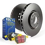 EBC Brakes S13KR1221 S13 Rear Kits Yellowstuff and RK Rotors