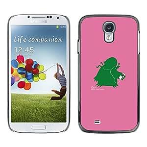 Caucho caso de Shell duro de la cubierta de accesorios de protección BY RAYDREAMMM - Samsung Galaxy S4 - Izann divertido