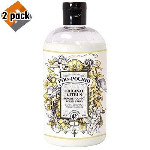 Poo-Pourri Before-You-Go Toilet Spray 16-Ounce Refill Bottle, Original Scent - Pack 2 by Poo-Pourri (Image #4)