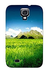Galaxy S4 Case Cover Road In The Wheat Field Case - Eco-friendly Packaging by mcsharks