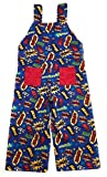 Bailey Bug Baby and Toddler Comic Book Overalls