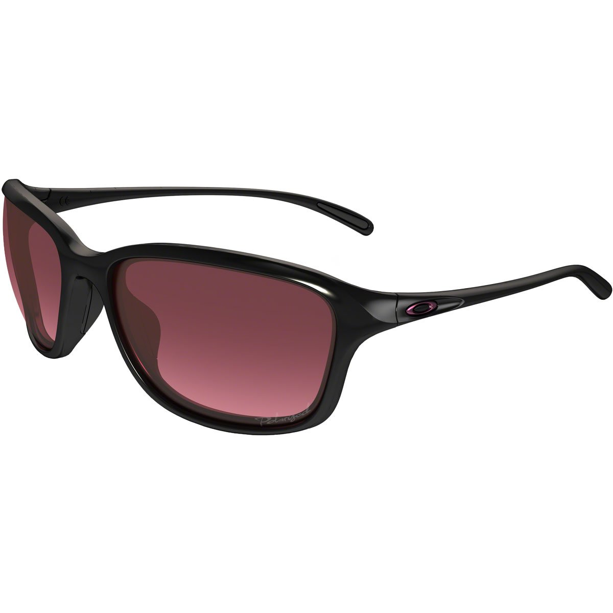 Oakley Womens Unstoppable Sunglasses Black/Rose by Oakley