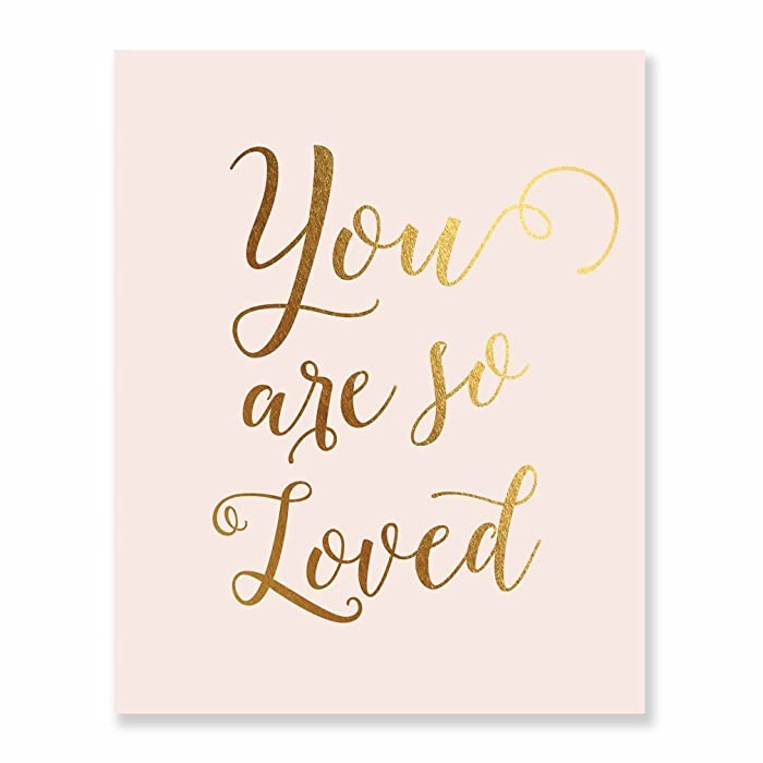 The Best You Are So Loved Decor