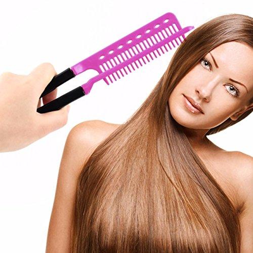 1 Pack Comb Hairbrush DIY Salon Folding Hairdressing Styling