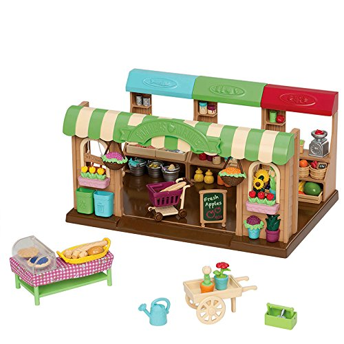 Farmers Market Fruit Set (Li'l Woodzeez Hoppin' Farmers Market Playset)