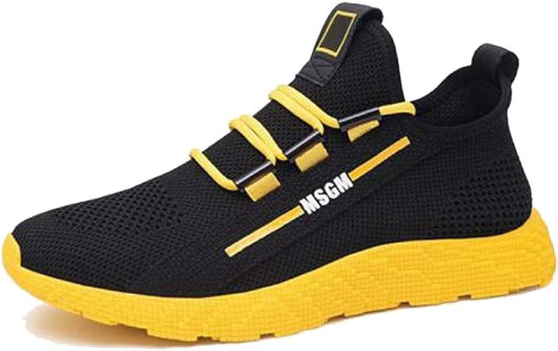 Zapatos Casuales para Hombres Zapatillas de Deporte Transpirables de Malla Antideslizante Jogging Fitness Sport Running Trainers: Amazon.es: Zapatos y complementos