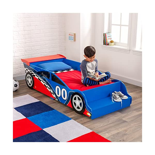 Race Car Toddler Bed 3