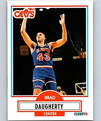 d563d7766c293 Amazon.com: Basketball NBA 1990-91 Fleer #31 Brad Daugherty #31 NM+ ...