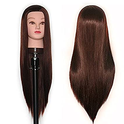 Manikin Head Cabeza Manikins Para Peluca Cabello Pelo Profesional Cosmetology Doll Head