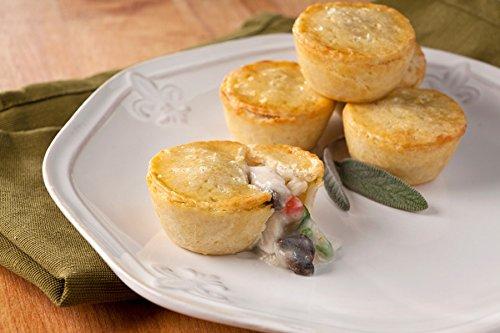 (Chicken Marsala Pot Pie - Gourmet Frozen Chicken Appetizers (40 Piece Tray))