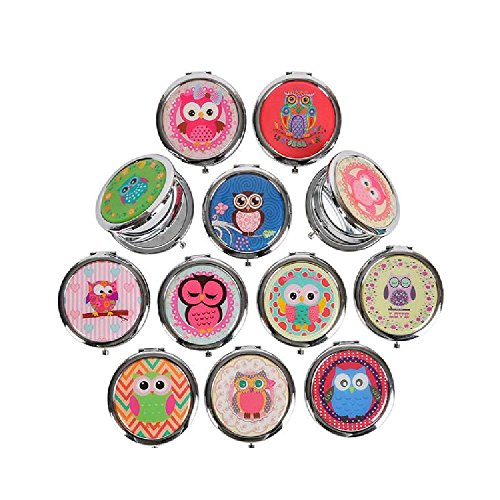 2.75'' Owl Mirror by Bargain World