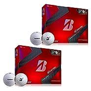 Bridgestone B330RX B Mark Golf Balls (2 Dozen) White