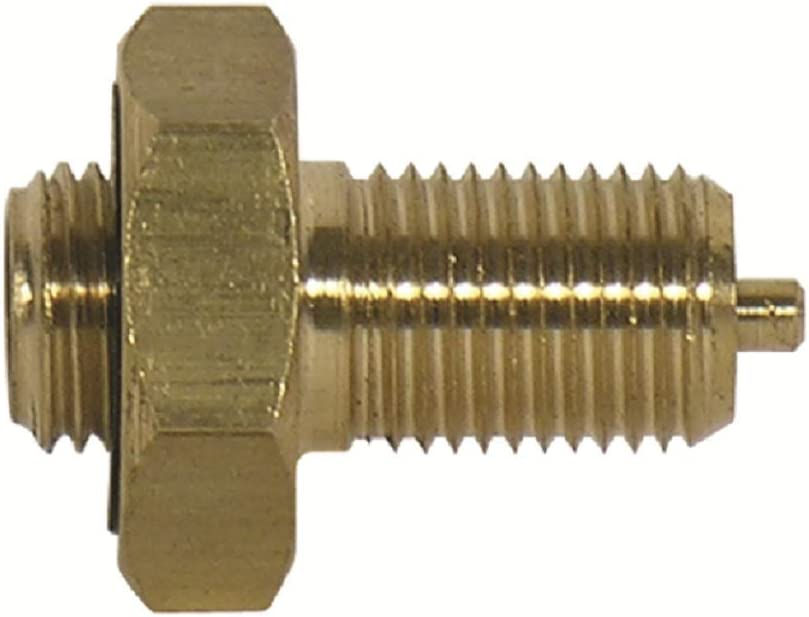 TRU-FLATE 37-096 Male Lge Bore V Adptr,0.305-32,Brs,PK5
