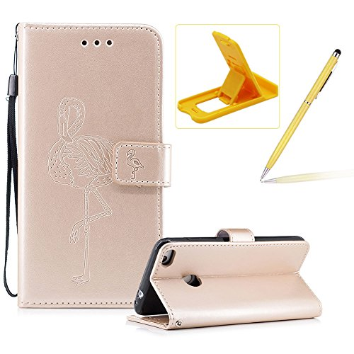 Strap Leather Case for Huawei