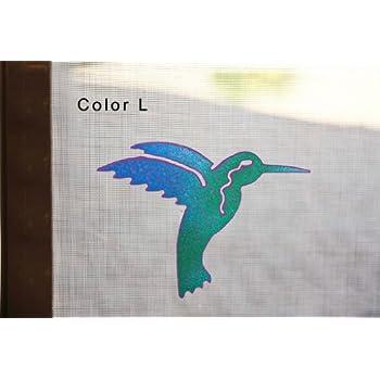 Screen Door Magnets Twist Click And Lock Keep People And Pets - Window alert hummingbird decals amazon
